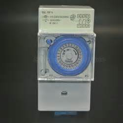 Best Seller Timer 24 Jam Stop Kontak Analog Alat Pengatur Waktu aliexpress buy sul181h 110 230v 45 60hz analog mechanical 24 hour time switch timer from