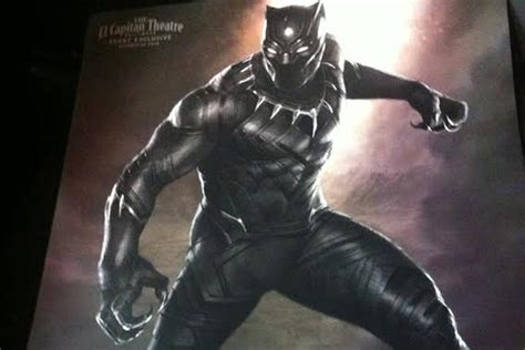 marvel reveals black panther captain marvel inhumans avengers marvel s black panther revealed in ferocious first look