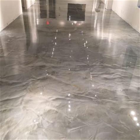 metallic epoxy  floors metallic garage floor