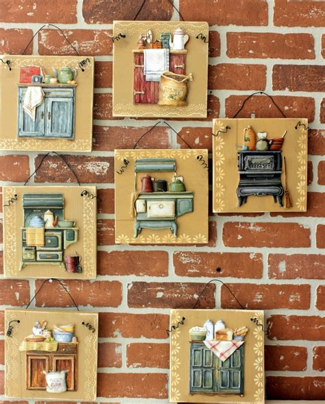 Decoupage Wall Ideas - 264 best images about mdf decoradas on