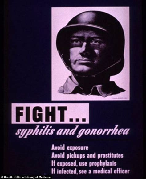 syphilis warning posters against war the 12 best world war ii std posters vintage ads