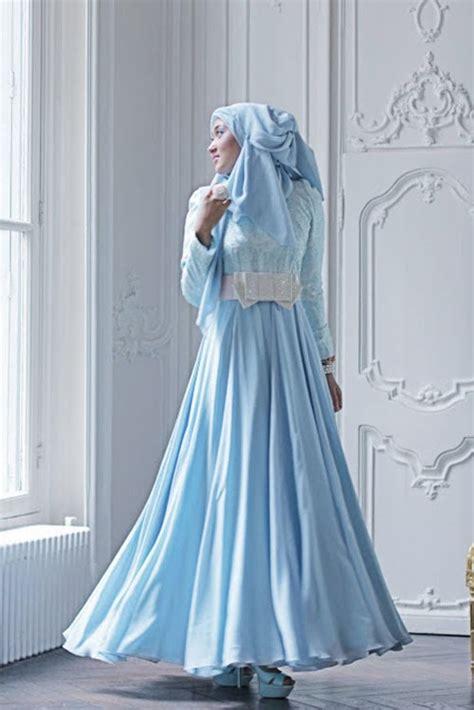 Gaun Pesta Muslim Gaun Pesta Muslimah Hairstyle Gallery