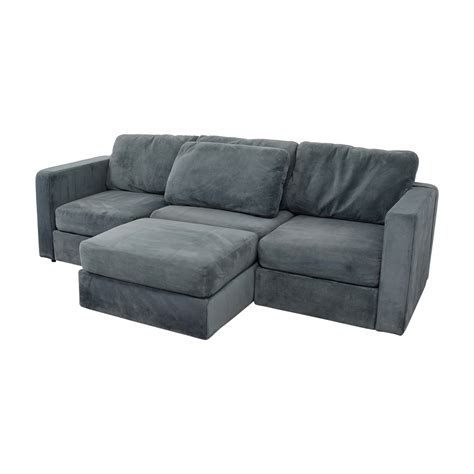 Lovesac Sectional - 77 lovesac lovesac grey center chaise sectional sofas