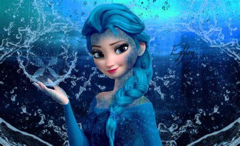Large Frozen2 water elsa version 2 by egylon on deviantart frozen