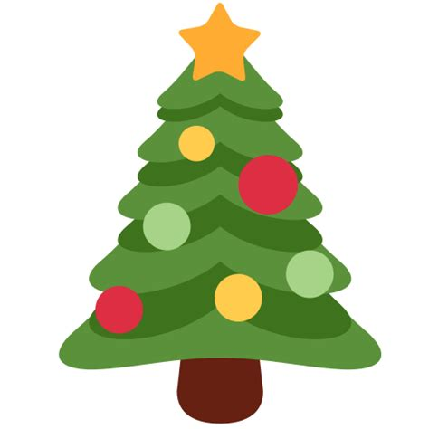 christmas tree emoji tree emoji