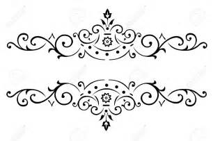 Design Black And White Similiar Black And White Flower Border Designs Keywords