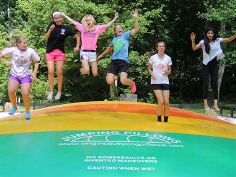 What Is A Jumping Pillow by The Jumping Pillow At Harpers Ferry Adventure