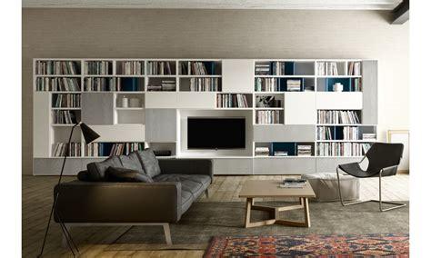 librerie cinisello balsamo napol librerie legno in finitura grigia