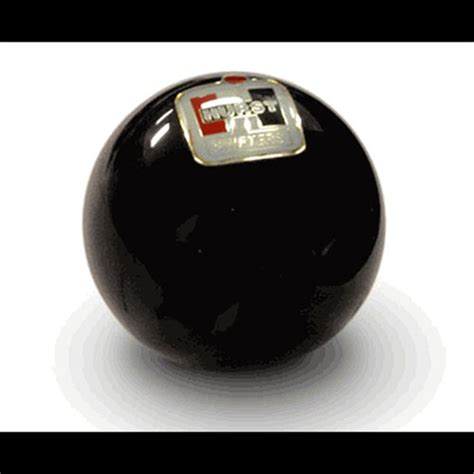 Hurst Knob by Hurst Embedded Logo Shifter Knob Black Shophemi