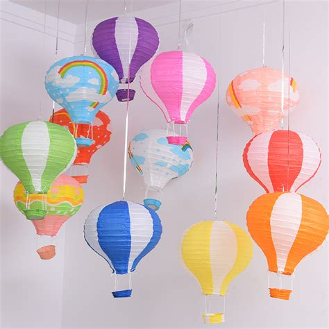 How To Make Paper Air Balloon Lantern - print balloon reviews shopping print balloon