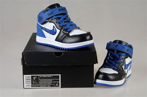 air kid shoes from china nike air 1 shoes kid s white black blue