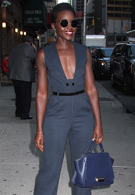 Style With Zac Posen Woven Flap Clutch by The Many Bags Of Lupita Nyong O