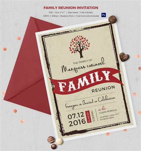 family reunion book template 25 best ideas about family reunion invitations on