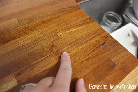 My Butcher Block Countertops, Two Years Later   Domestic Imperfection