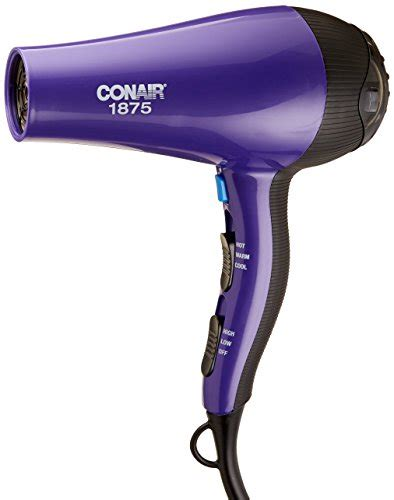 Conair Hair Dryer Curler conair 1875 watt thermal shine ionic conditioning hair dryer sporting goods team sports curling