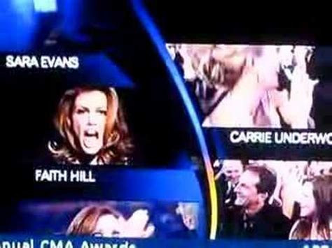 Faith Hill Freaks Out At Carrie Underwood Win by Faith Hill Freak Out