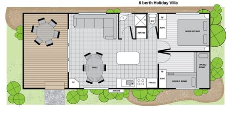 2 Bedroom Villa Floor Plans by Two Bedroom Holiday Villa 187 Big4 Renmark Riverfront