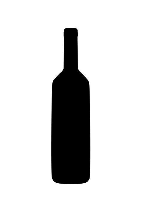wine silhouette principles of graphic art bottle silhouettes