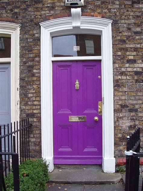 Purple Door Meaning by 17 Best Ideas About Purple Front Doors On Pinterest