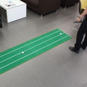 china custom indoor putting carpet with your design