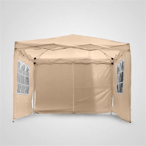 Pop Up Tent Awning by 3x3m Pop Up Gazebo Tent Waterproof Canopy Awning Patio Sun Shelter Marquee
