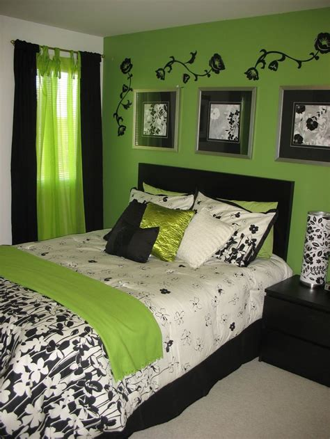 green and black bedroom neon green and black bedroom