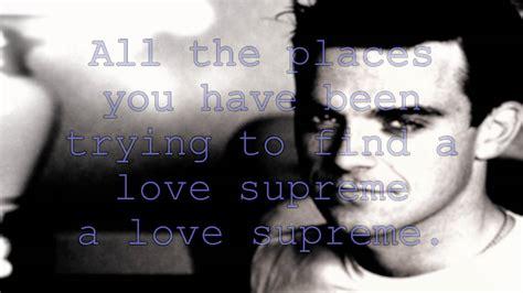 robbie williams supreme lyrics robbie williams supreme lyrics hd