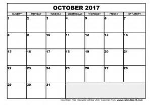 Calendar 2017 October November October 2017 Calendar Monthly Calendar 2017