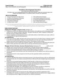 Workforce Development Manager Sle Resume by Resume Workforce Development Ebook Database