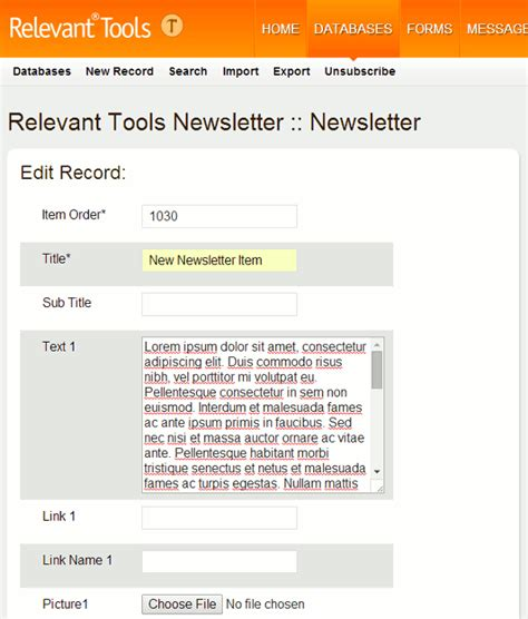 responsive design html newsletter relevant tools announcement responsive design newsletter