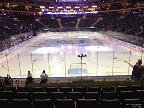 section 6 hockey madison square garden section 112 new york rangers