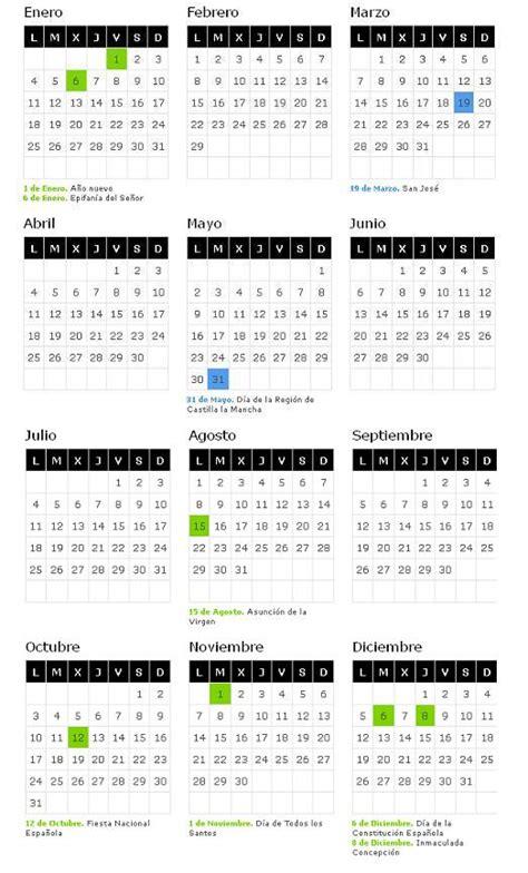 Calendario Laboral De Castilla La Mancha Gobierno De Review Ebooks | calendario laboral 2016 castilla la mancha blog de