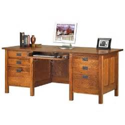 wooden mission style desk plans diy blueprints mission