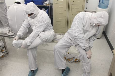 clean room suit the from flcc flcc cleanroom operator class graduates