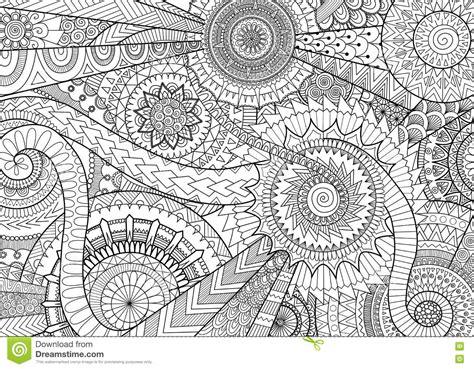 Dise 241 O Complejo Del Movimiento De La Mandala Para El Libro