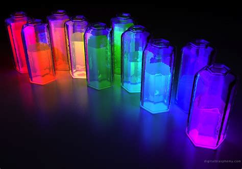 Glow In The Decor by Glow In The Diy Bottles Wedding Reception Decor