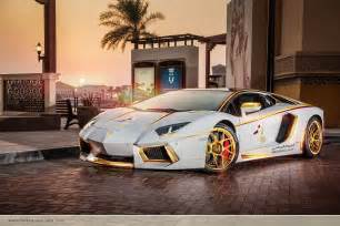White Gold Lamborghini Gold Plated Lamborghini Aventador Is Quot 1 Of 1 Quot W