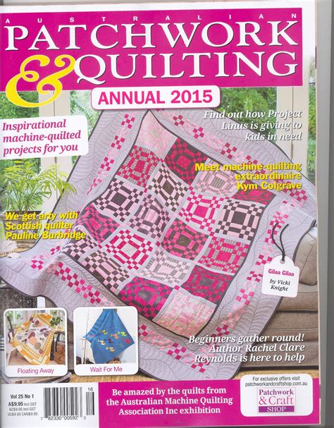 Patchwork And Quilting Magazine Australia - inaugural queen s park scout quilt show koolkat