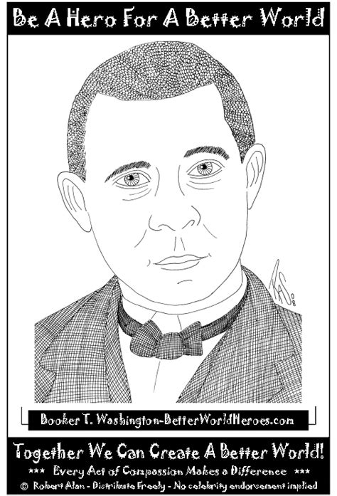 coloring pages booker t washington free booker t washington coloring pages
