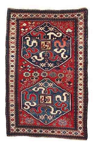 kazak rugs wiki file armenian rug vishapagorg kazak 193x122 1892 chondoresk karabagh kar994 jpg