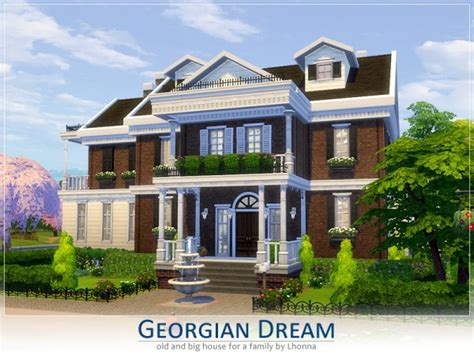 by erin l on hobbies sims house building inspiration pinterest the sims resource georgian dream by lhonna sims 4 downloads