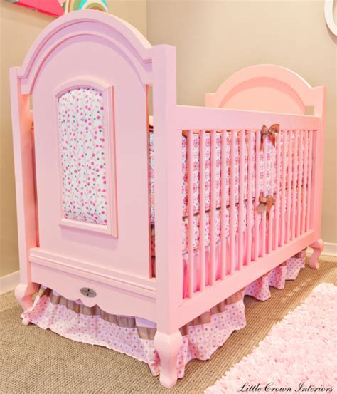 Home Trends And Design Furniture Review by Friday Find Hope Pink Crib For Baby Simplified Bee