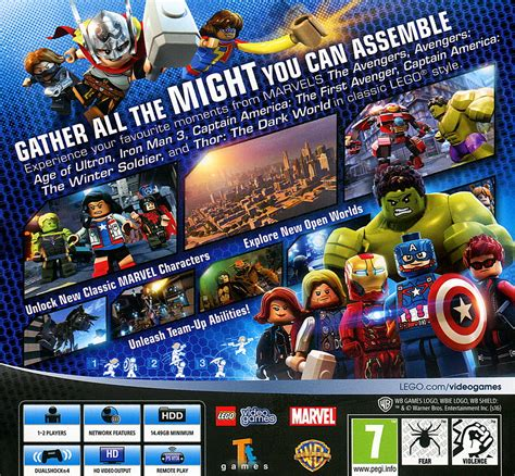 Murah Ps4 Lego Marvel Heroes Reg 2 lego marvel ps4