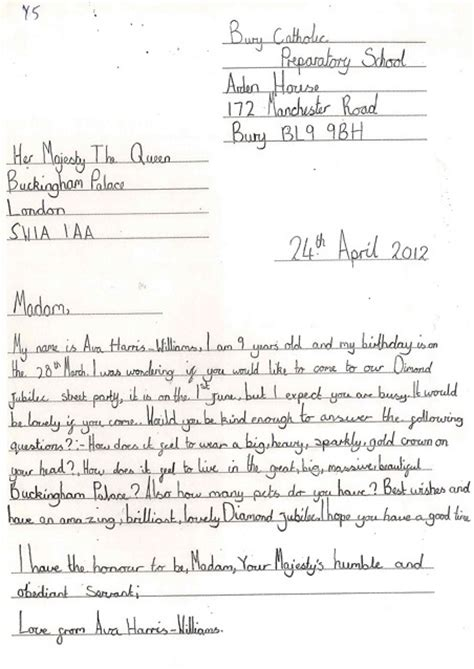 Formal Letter Exle Ks2 Letter Of Application Letter Of Application Exle Ks2