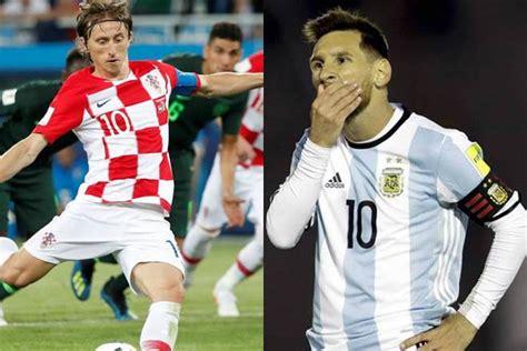 kroasia akan menikmati laga melawan argentina info bola