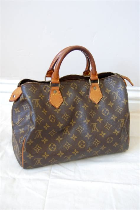 Are Louis Vuitton Bags Handmade - vintage authentic louis vuitton speedy 30 handbag purse