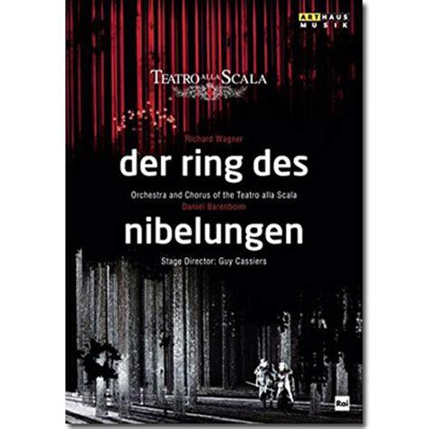 Der Ring Des Nibelungen der ring des nibelungen dvd box set pape barenboim