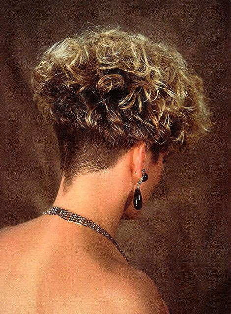 perm and nape shave permed wedge clippered nape short and wild pinterest
