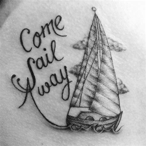 styx tattoo come sail away styx dipped in ink