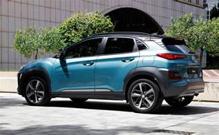 hundai new cars new hyundai kona suv specs details photos by car magazine